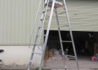 厂家供应重庆铝合金人字平台梯/铝合金梯子平台