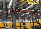 铁路机械焊接焊烟净化吸尘臂直销-吸尘臂-百润机械(在线咨询)