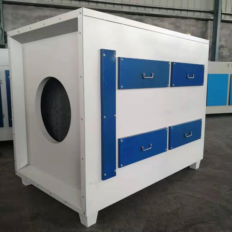 宝聚环保5000风量光氧活性碳废气处理设备工业废气除臭净化器