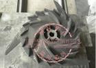造紙行業水力碎漿機磨損修復強化