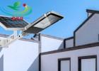 供应广东乡村便携独立式100W太阳能路灯照明系统安装简单
