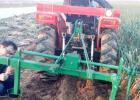 生产大葱收获机拖挂式大葱收获机挖葱机