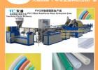 供应PVC纤维增强软管生产设备 塑料包纱管挤出生产线