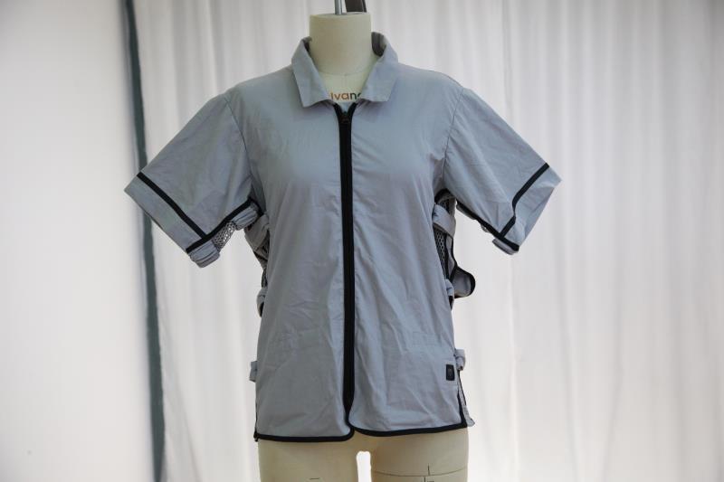 夏日奇翼科技空调衣夏季降温蓝牙控制温度民用空调衣