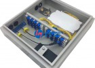 铁皮24芯光缆分纤箱图文详细介绍