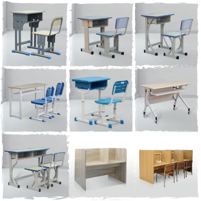 长春学生课桌椅多风格设计定制专属产品