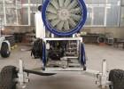 炮式造雪机浙江江南天池滑雪场全自动造雪机设备的工作原理