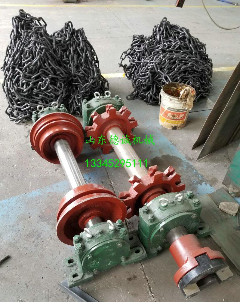 洗煤厂铸石刮板机链轮  铸石刮板机