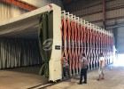 江苏厂家直销伸缩移动型节约工时操作方便适用于大型工业喷漆行业