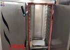 果蔬蒸制专用电蒸箱 24盘电气两用双门蒸饭柜价格大型馒头蒸房