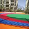 上海崇明岛小区健身步塑胶地坪施工厂家