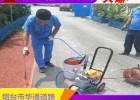 广东佛山新修沥青路面改色喷涂中需要注意的事项