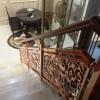 铜楼梯雕刻栏杆 K金与艺术铜楼梯可以更好结合