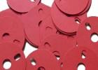 定制青稞纸绝缘垫片 绝缘垫圈红钢纸垫 片纸垫圈 主板绝缘垫片