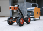 高清无线CCTV管道检测机器人,cctv机器人。