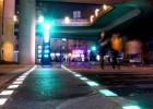 红绿灯斑马线信号地灯