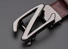 男士皮带批发生产真皮皮带腰带批发定做黑色时尚自动带