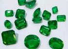仿天然祖母绿戒面裸石 1-5mm 肉眼干净至微瑕绿宝裸石戒面