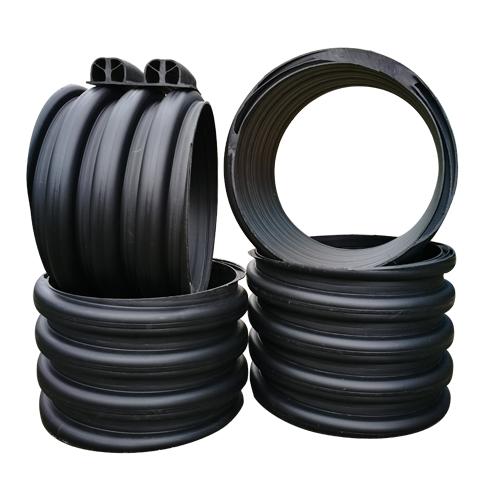 湖南HDPE多肋管多肋缠绕管聚乙烯多肋管的选用及维护