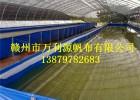 帆布养殖水池-大型水产养殖帆布箱-帆布水池