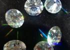 大量现货厂家直销 高品质超白色莫桑石 0.8-3mm碎石