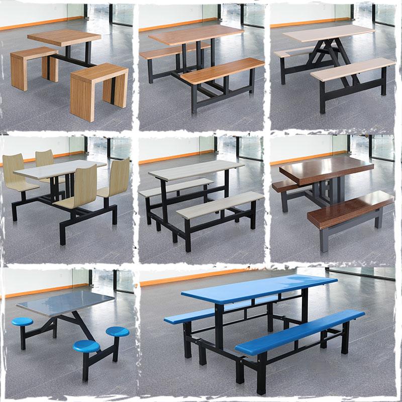 长春市内餐桌椅食堂餐桌批量出货厂家