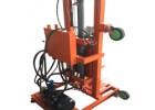 液压升降电动打井机