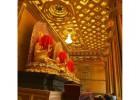 古建寺庙集成吊顶寺庙大殿走廊天花板园林彩绘横梁板