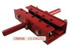 调直机小型铜管铝塑管手动校直空调铜管校直机拆装方便