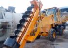 装载机式挖坑机