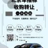 北京公司名下的车牌多少钱一个