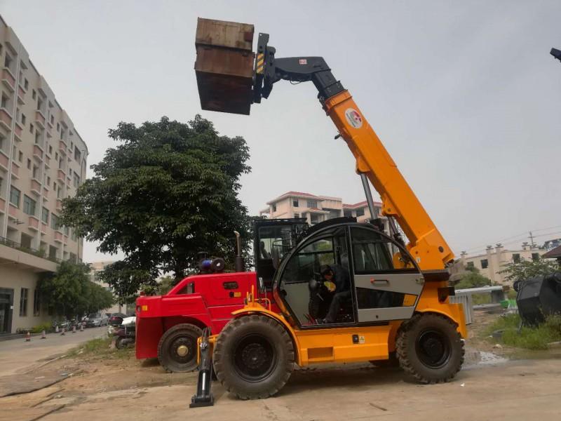 2.5吨伸缩臂叉车厂家升高7米配置