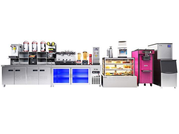 开奶茶店都需要什么设备_腾工厂家直销_奶茶设备全套