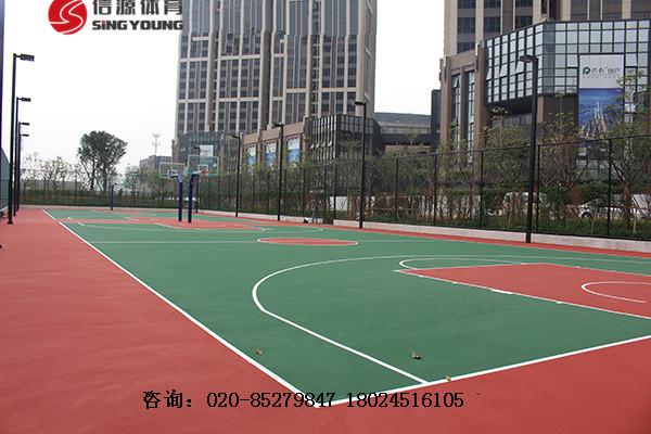 海南三亚环保篮球场材料价格厂家,环保耐用