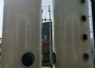 环保PP喷淋塔废气处理设备水淋塔碳钢不锈钢脱硫除尘酸雾净化塔