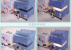 小型热缩管加热机  台式热缩管加热机局部热缩管加热设备