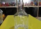 广东玻璃酒瓶 晶白料玻璃瓶