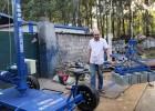 水泥砖电动抓砖机