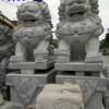 凤凰与祥云的石雕栏板 寺庙石雕麒麟 湖南石雕加工
