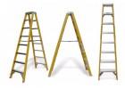 绝缘工作梯LFD210GFA多功能绝缘玻璃钢折叠梯金锚梯具