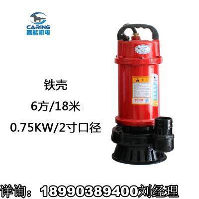 家用抽水机高扬程小型吸水泵污水清水泵两用泵