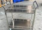 上海厂家不锈钢千层架物料架重型推车耐高温网框展示台金属护栏