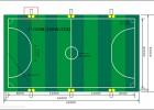 5人制足球场地布灯方案