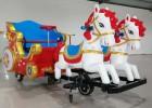 皇家马车 机器人蹬车 广场双人游乐车去多钱一台