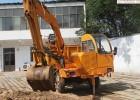 多用途四驱四不像挖掘机 轮式四不像随车挖 运沙用四不像随车挖