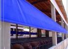 定做牛场养殖场卷帘篷布防晒挡风保暖布养殖场遮光绿色帆布