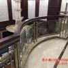 别墅欧式铝艺楼梯铝艺护栏立柱讨人喜欢是有原因的