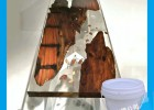高清木色家具水晶胶 适合木制工艺品、艺术品灌注材料
