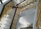旋转铝雕花护栏上门安装护栏板 别墅高端铝艺雕刻楼梯护栏