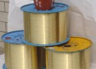 高强度镀铜钢丝 环保金属丝镀铜  钢丝刷用黄铜丝